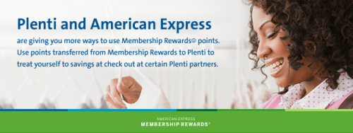 Transfer Amex Membership Rewards to Plenti points with a 50% bonus until the end of the year
