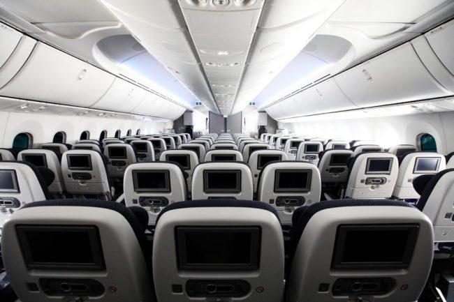 British Airways' World Traveller (Economy) Cabin on 787