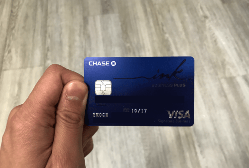 The Chase Ink Plus card