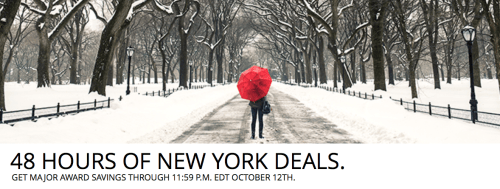 Delta is running a flash sale for flights to/from NYC