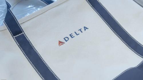 Delta Lands' End Tote Bag