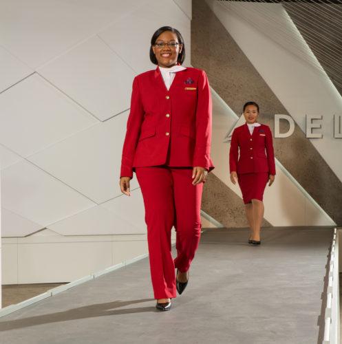 Delta's new uniform by Zac Posen for customer service
