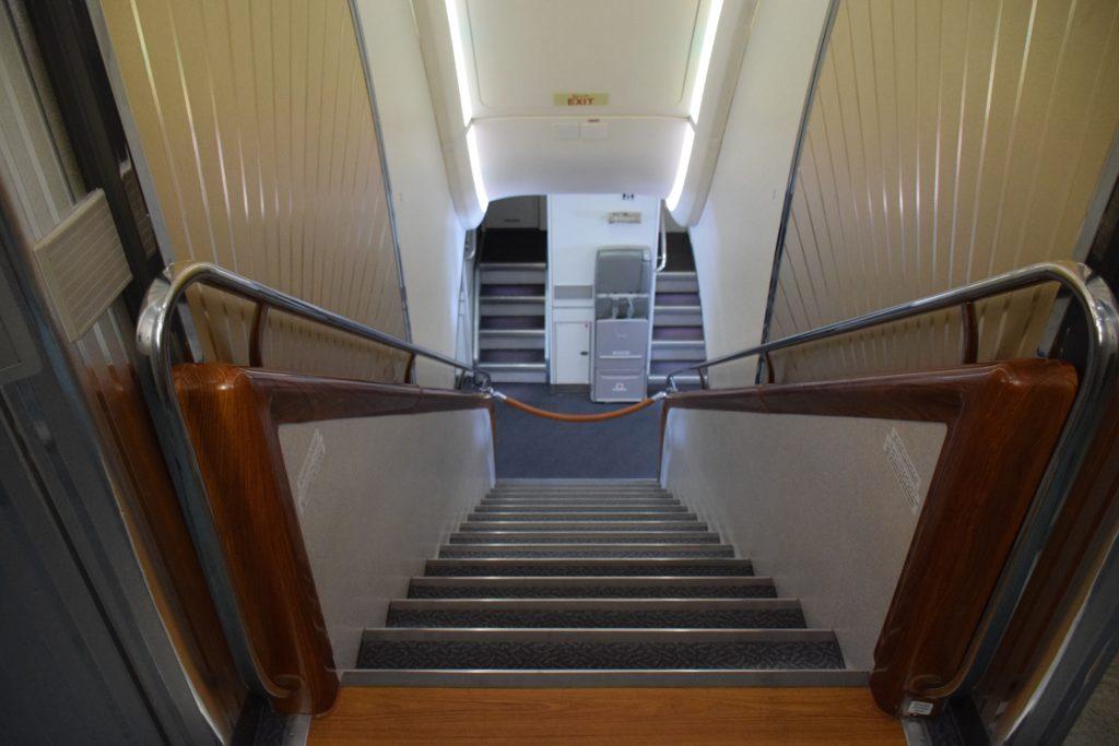 Emirates A380 Stairway