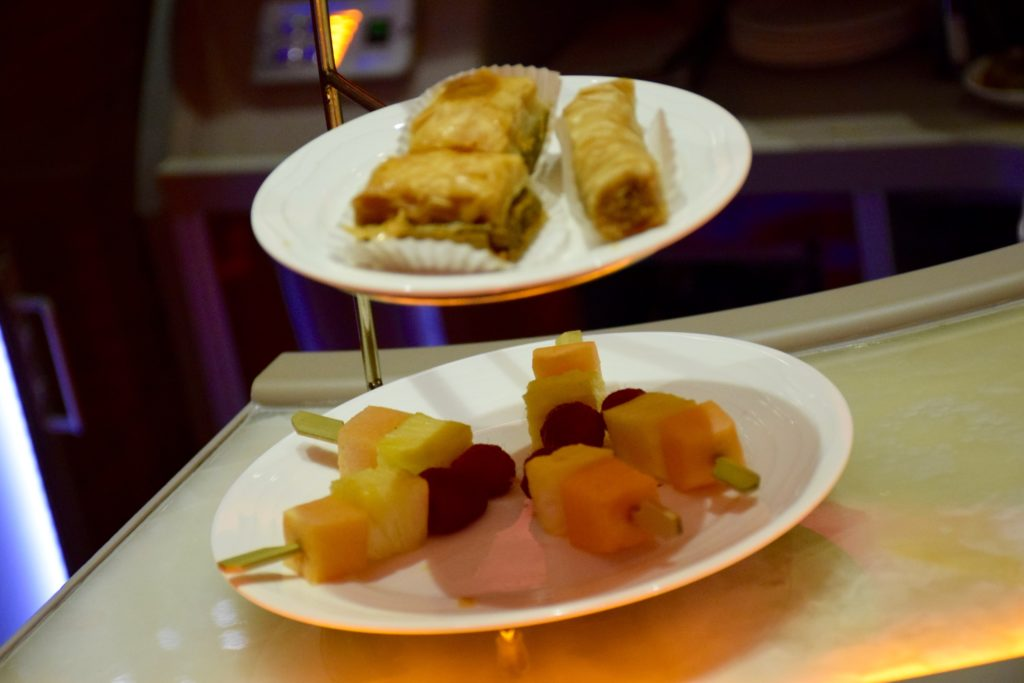 Emirates Onboard Bar Snacks