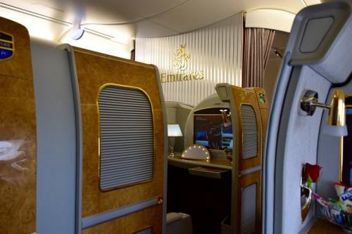 Emirates A380 First Class Seat