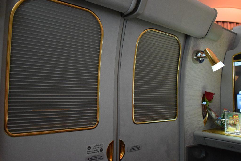 Emirates First Class A380 Doors