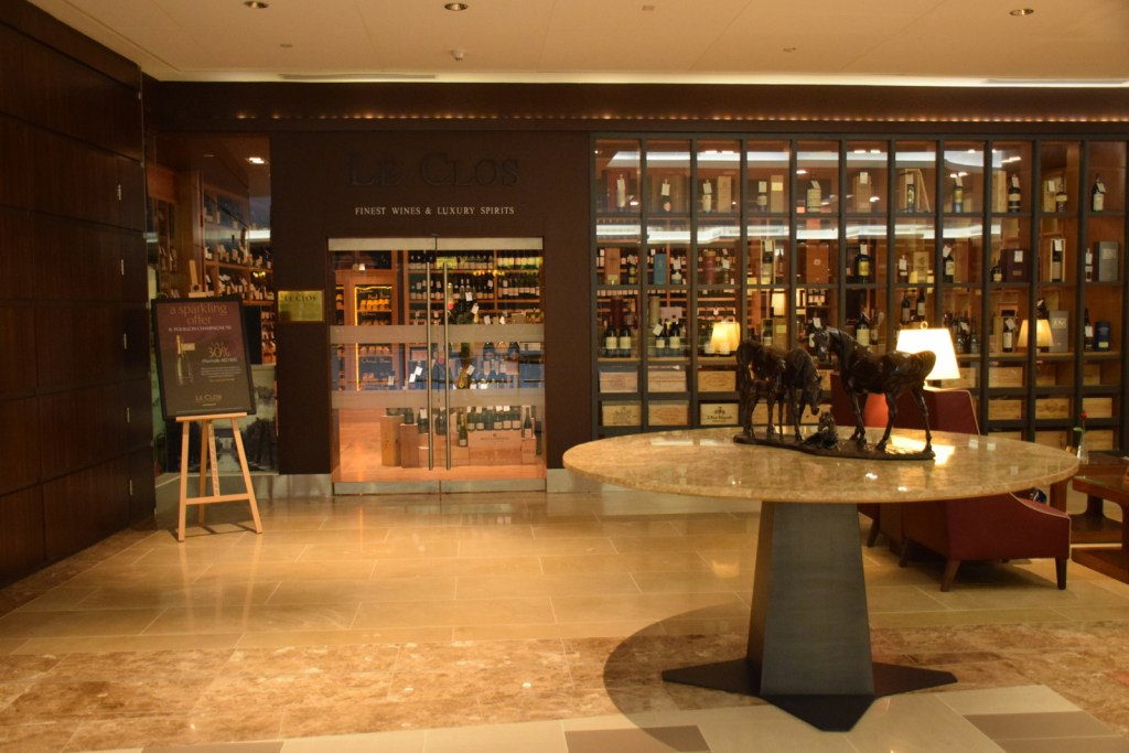 Emirates First Class Lounge Dubai Concourse A - Duty Free Shopping