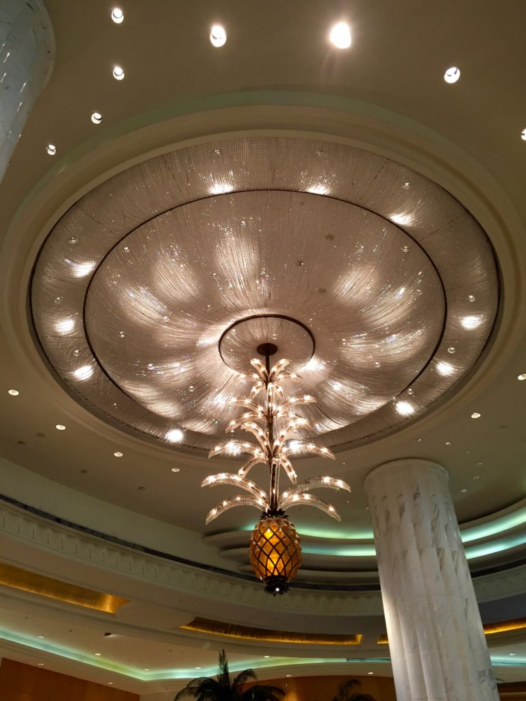 Grand Hyatt Dubai Lobby Chandelier