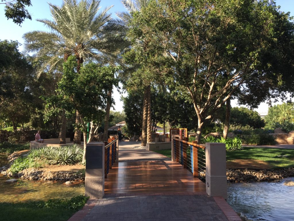 Grand Hyatt Dubai Pathway to Pool