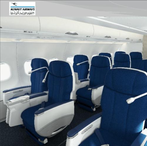 Kuwait Airways A330 Business Class. Kuwait Airways/Instagram