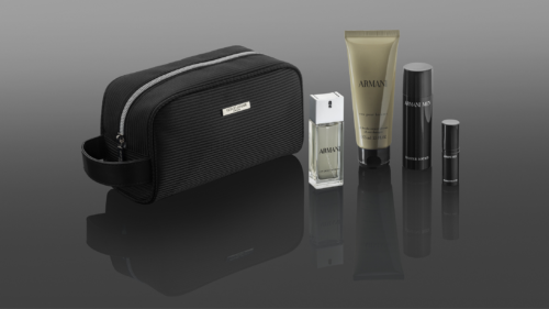 New Qatar Airways First Class Amenity Kit for Men