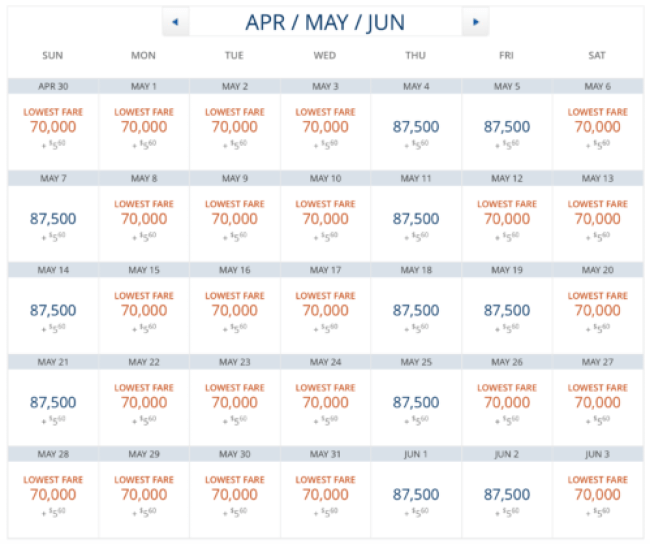 Delta Business Class is having some amazing award availability between New York and London through the end of schedule!