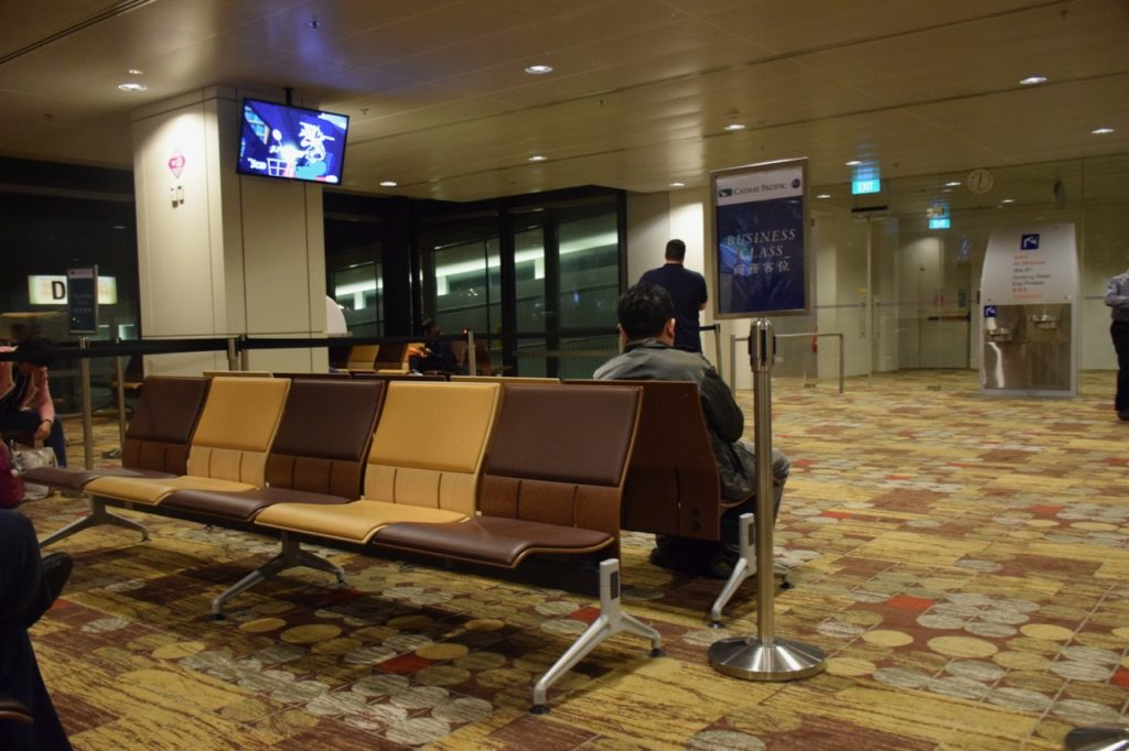 Singapore Changi Area Secured Gate Area