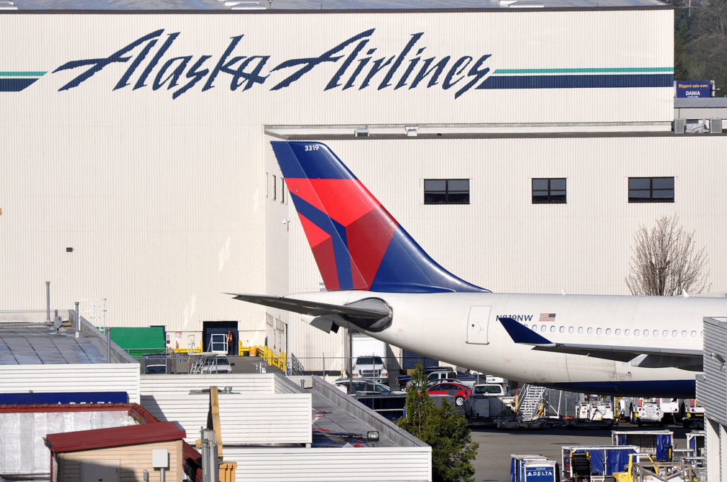 Alaska and Delta Air Lines are ending their partnership in 2017. Photo by Eric Salard, used with permission.