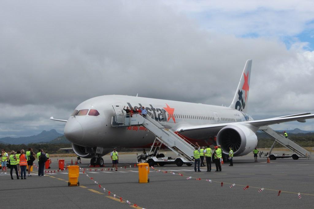 A JetStar Airways 787 Dreamliner. JetStar/Flickr