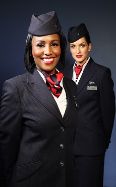 "British Airways ""mixed fleet"" cabin crew. Source: BA.com"