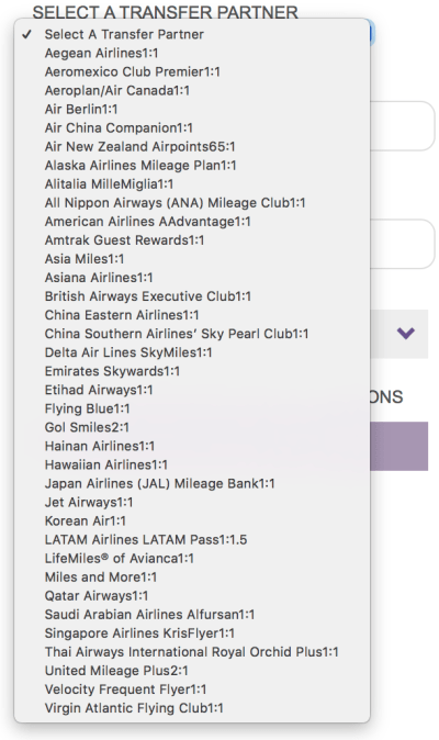 You can no longer initiate transfers from SPG to Virgin America Elevate. SPG virgin America
