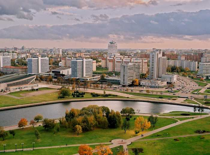 Minsk, the most populated and the capital city of Belarus. Source: Belarus National Tourism Agency