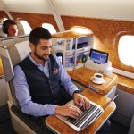 Emirates will reportedly allow passengers in premium cabin to carry their electronic devices past security, and collect them before boarding. Source: Emirates