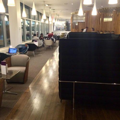 Virgin Atlantic Clubhouse JFK window seating