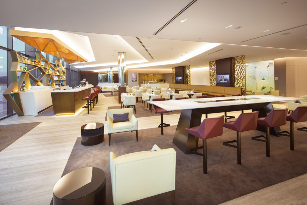 Etihad First & Business Class Lounge Melbourne. Source: Etihad