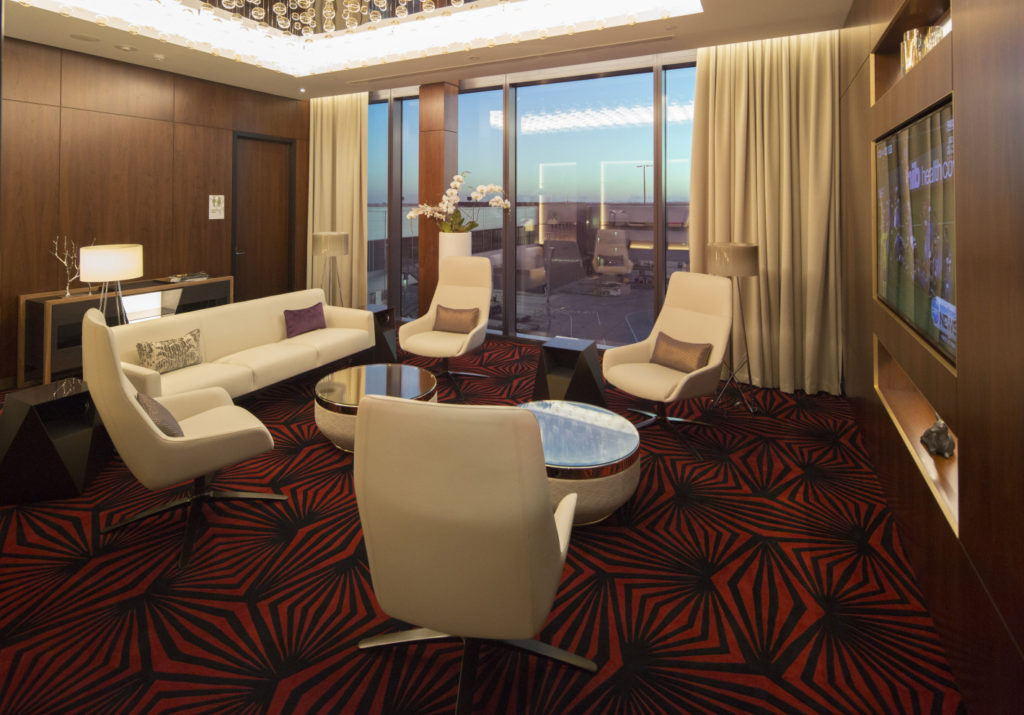 Residence Room in Etihad First & Business Class Lounge Melbourne. Source: Etihad