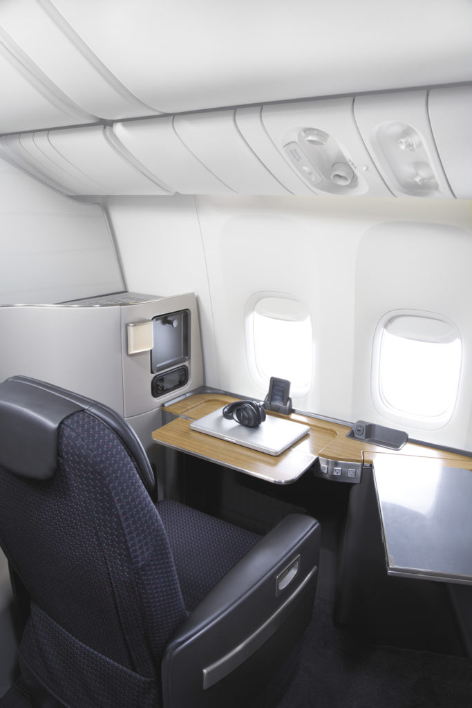 American Airlines Flaghip First on B777-300ER. Source: American Airlines