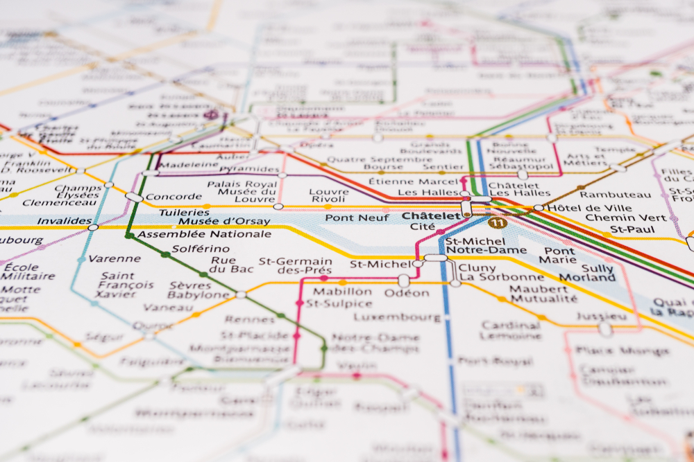 how difficult is the Paris Metro System for English speakers ...