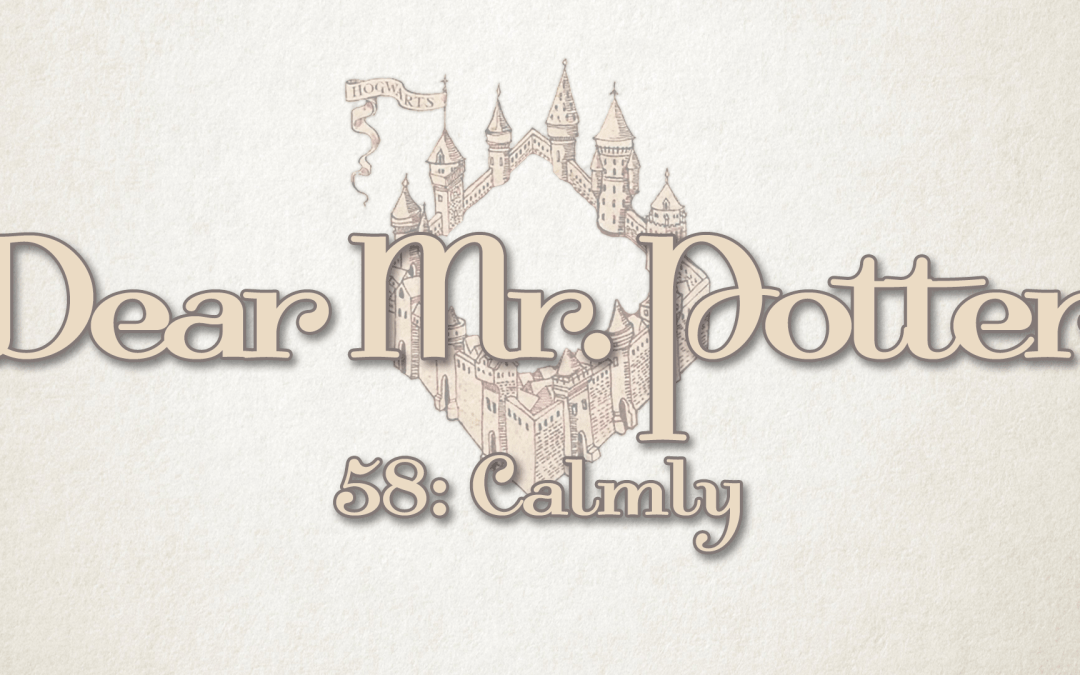 Dear Mr. Potter 58: Calmly