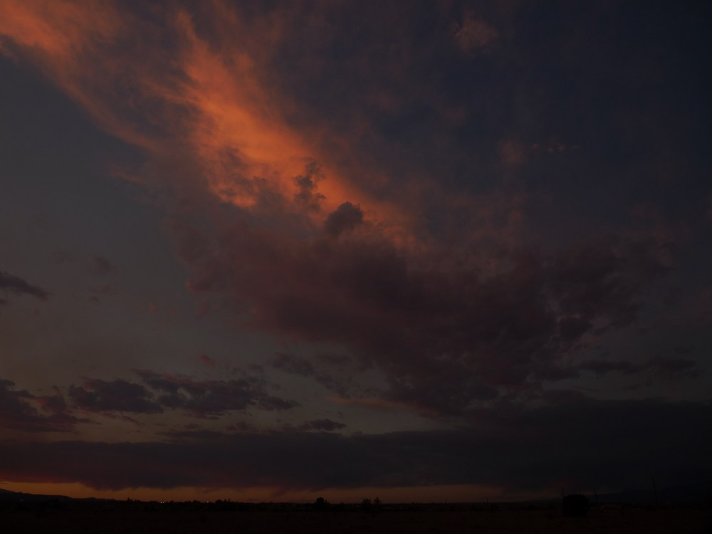 sunset 6.8.2013 (2/4)
