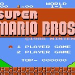 Super Mario Brothers – Original NES version GAME