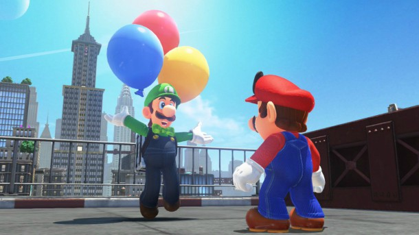 Luigi Update, New Costumes Now Available For Super Mario Odyssey