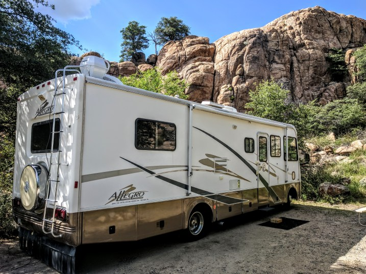 Beautiful Arizona Camping