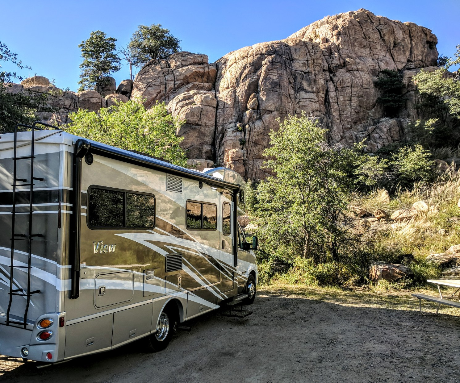 Prescott Campground Photos