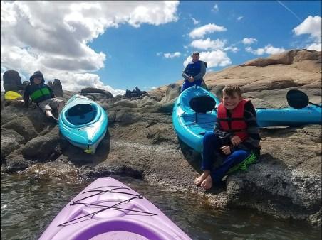 Kayaking Arizona
