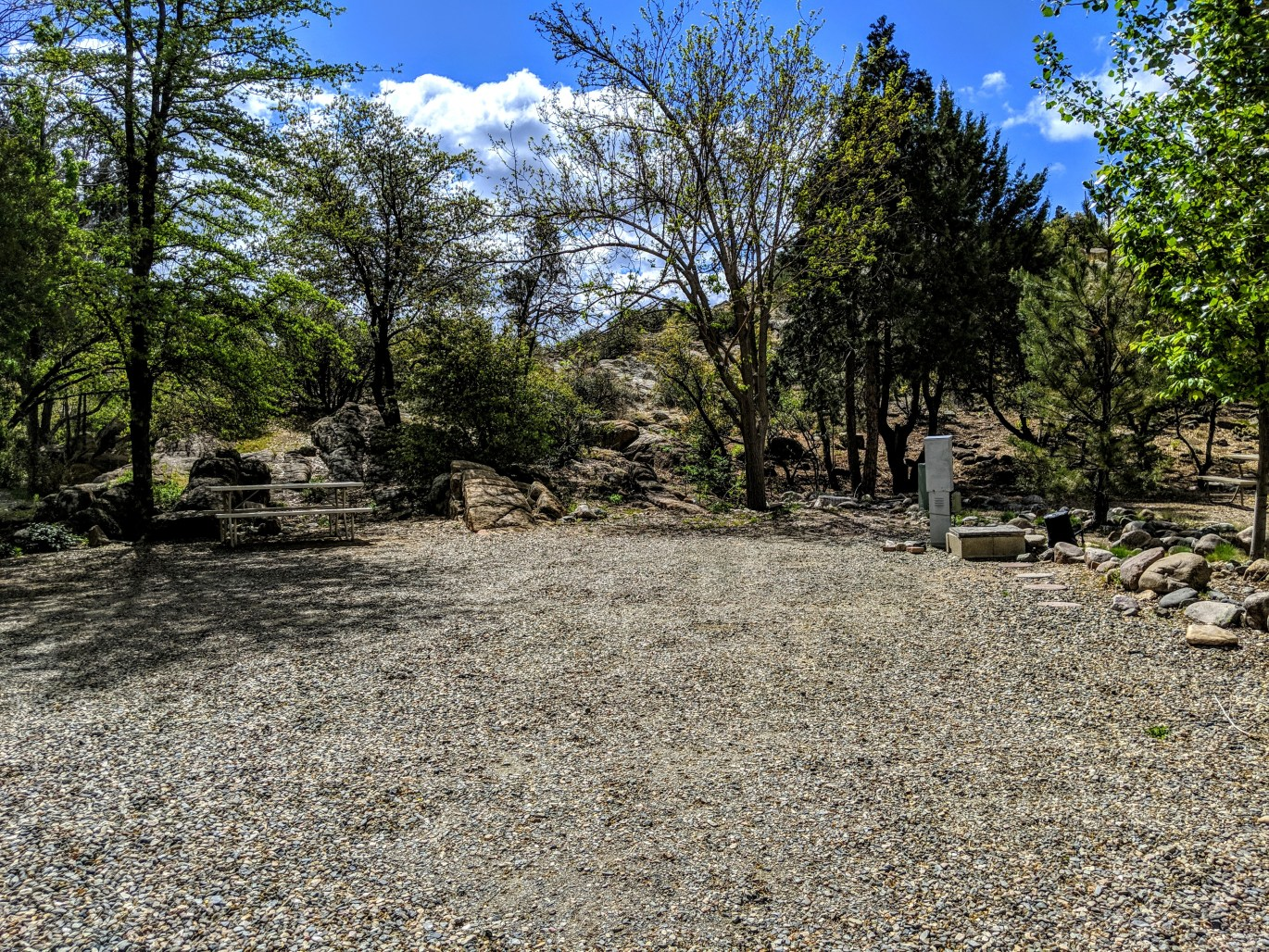 Campsite 56E at Point of Rocks RV Campground