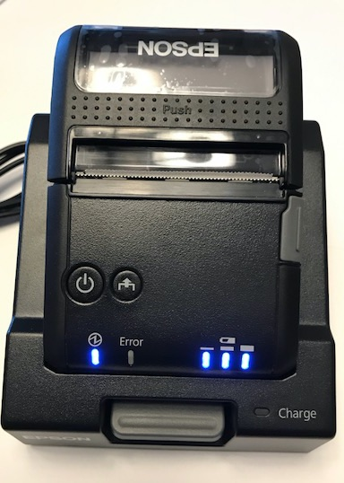 epson p20 charging station