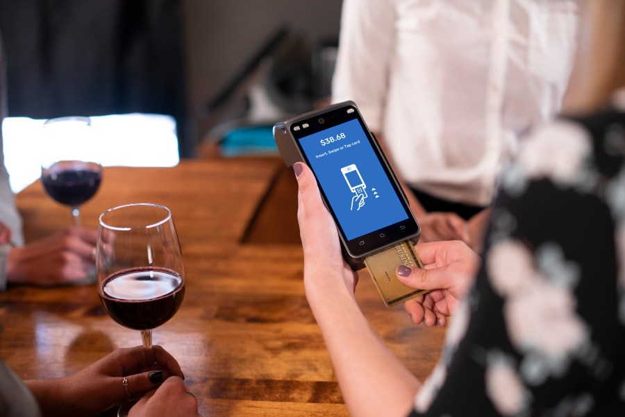 PointOfSale SkyTab Pay-at-the-Table tableside ordering