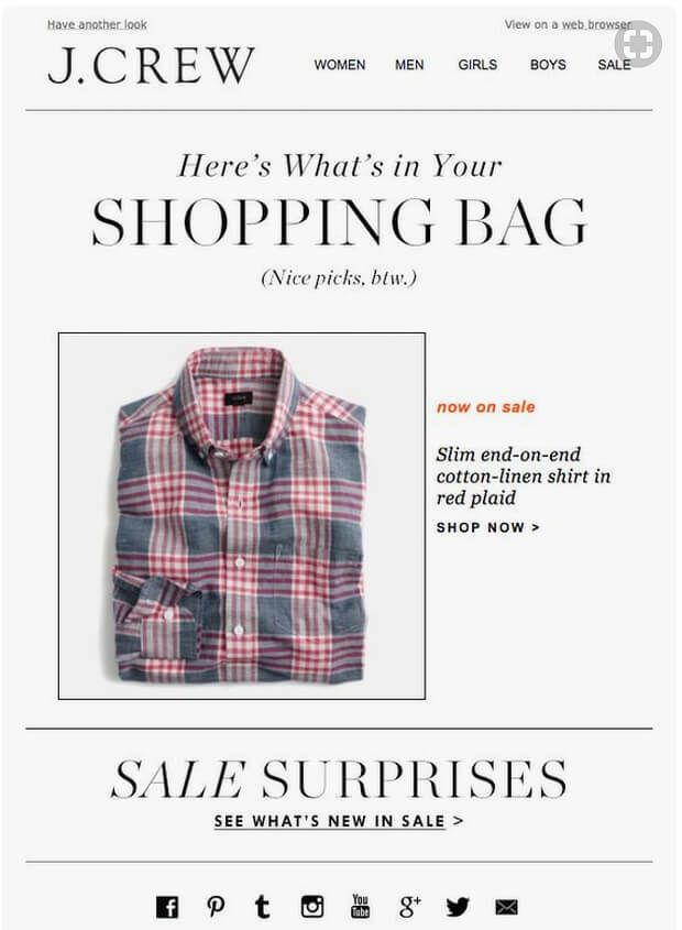 PointofSale-e-commerce-marketing-strategy-JCrew-shopping-bag