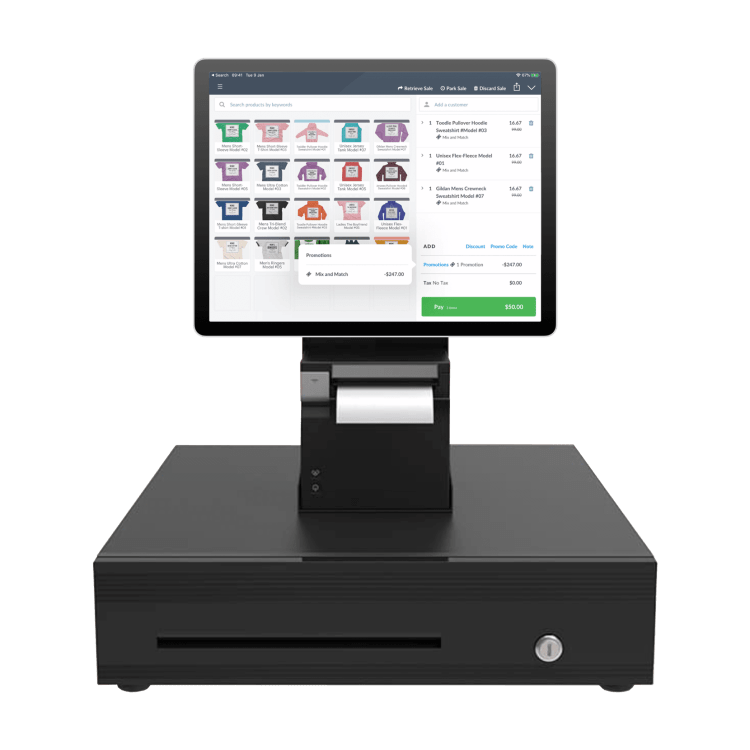 Vend pos system for retail