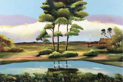 Curtis Arnett Painting