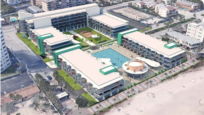 Proposed Lauderdale by The Sea Hotel
