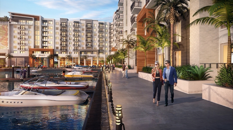 POMPANO BEACH HIDDEN HARBOUR PROJECT SCALED BACK