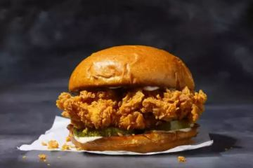 Pompano Beach Chicken Sandwiches- Popeyes is the best- courtesy photo