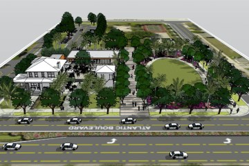 Pompano Beach McNab Park Plans; McNab House Restaurant