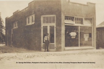 Pompano Beach's first doctor