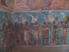 Painting, Templo de las Murales, Bonampak