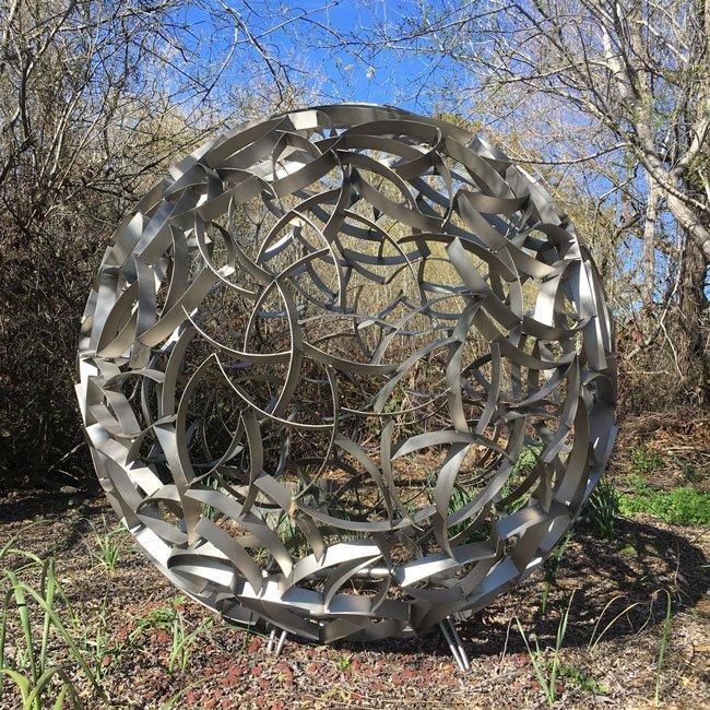 Ivan McLean's Sphere on Hwy One