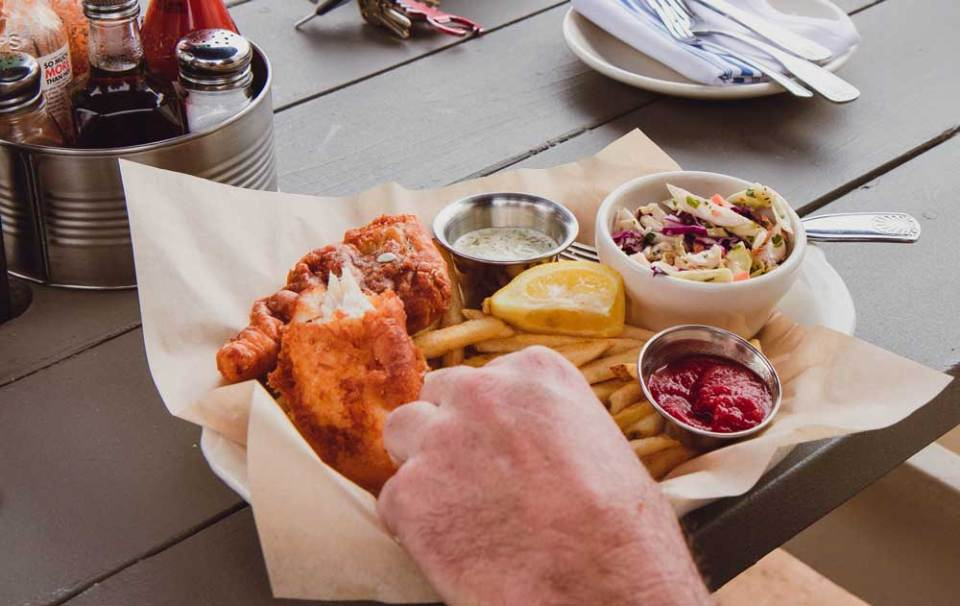 Where to get fish and chips in point reyes