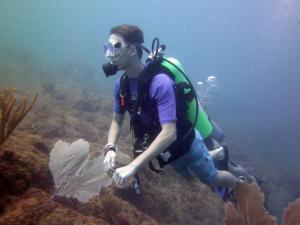 1-Diving-David Mays